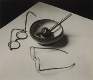 Mondrians Eyeglasses and Pipe Paris 1926