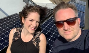 Ross Power and his wife Abi installed solar panels at their home in Whitstable, Kent, in 2015.
