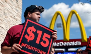 Fast-food restaurants in New York City may soon have to adhere to a law that prohibits firing an employee without just cause.