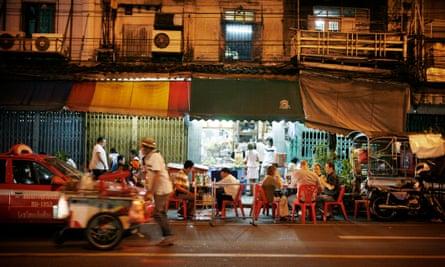 Street stalls in Bangkok
