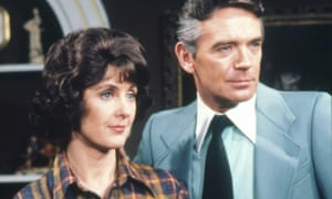 Janet Hargreaves and Ronald Allen as Rosemary and David Hunter in Crossroads.