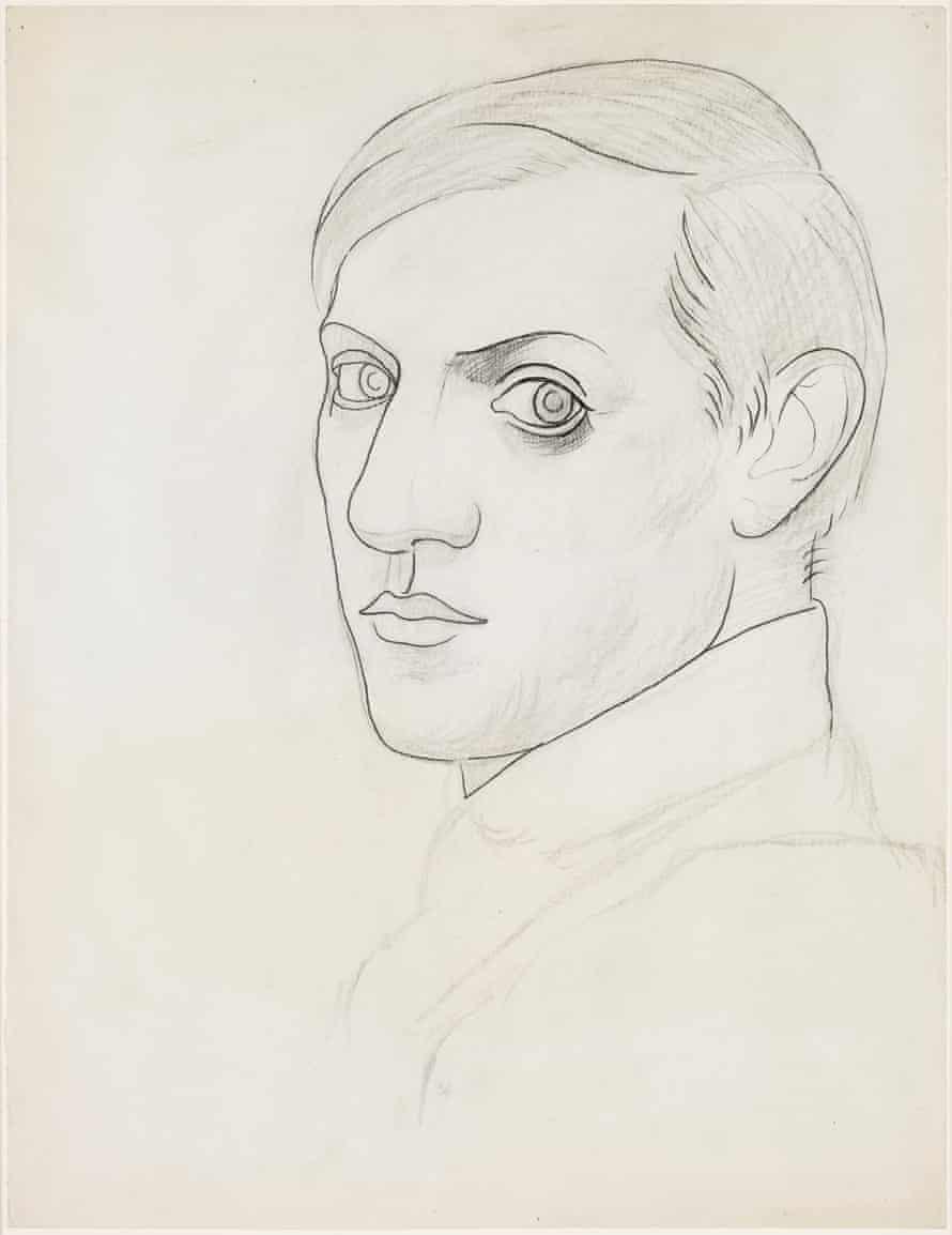 Self-portrait, 1918.