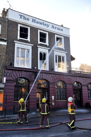 Unfortunately only this rather grim image of The Hawley Arms' burnt out windows in the wake of Camden's 2014 fire remains on the Guardian's files, but this North London pub was the hub of all indie hedonism in the early noughties. One of Amy Winehouse's favourite boozers, and often frequented by the likes of Noel Fielding and Kate Moss, hang around long enough in 2016 and you'll almost certainly come across a long forgotten former NME cover star drowning memories of nu-rave face paint and dancing with Towers of London in grimy south London squats.