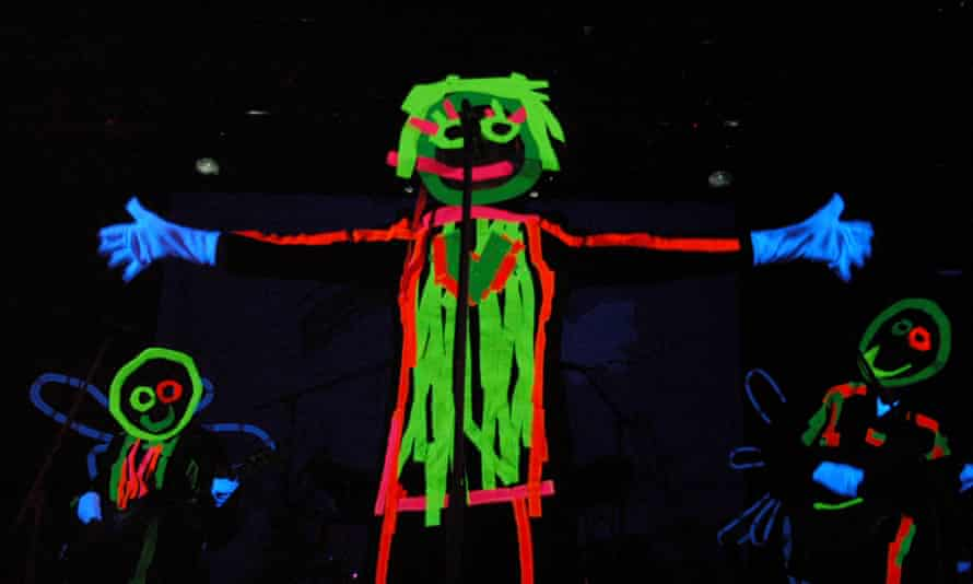 Sia performs in DayGlo attire at Koko in London