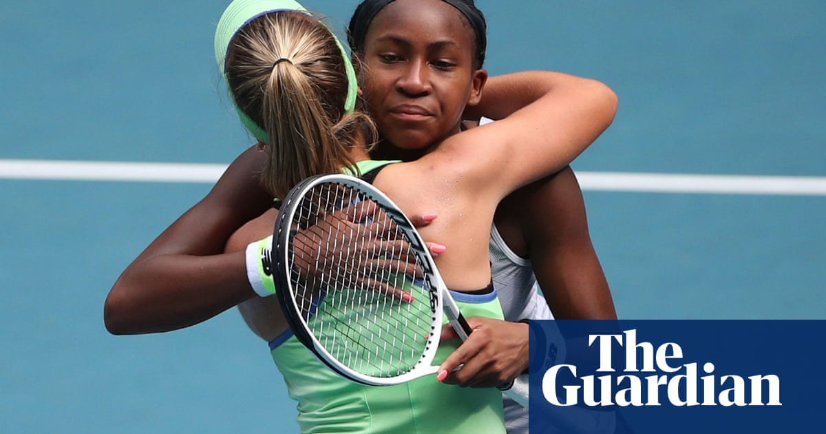Coco Gauffs fairytale run at Australian Open ended by Sofia Kenin