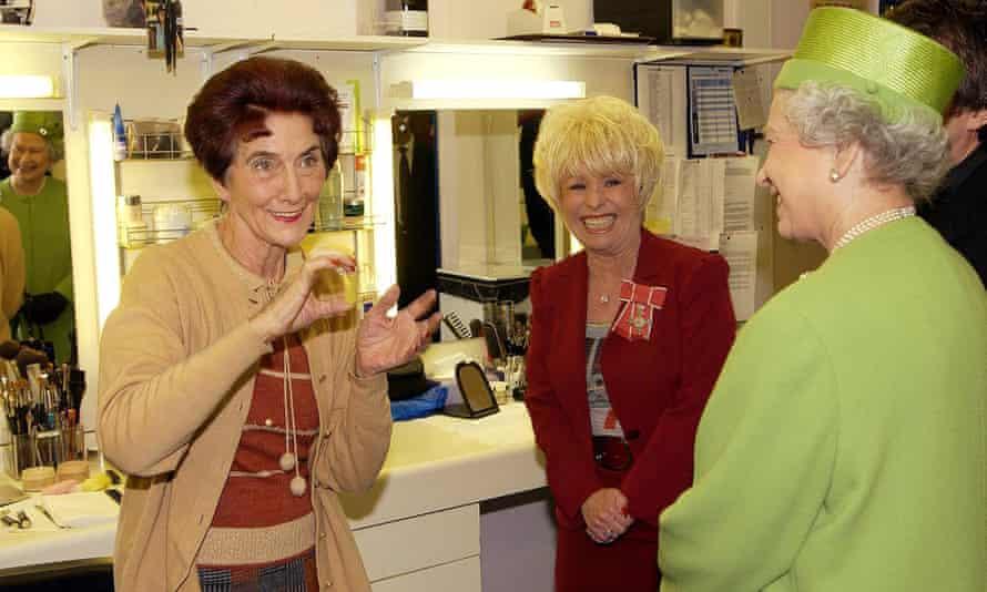 June Brown, Barbara Windsor and the Queen
