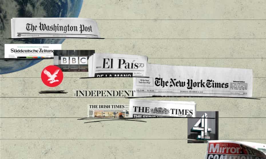 Newspaper mastheads