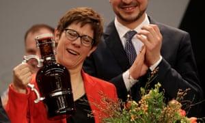 Annegret Kramp-Karrenbauer chair of the CDU.