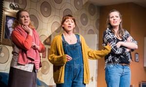 Deirde Davis, Lucianne McEvoy and Scarlett Mack in Bold Girls.