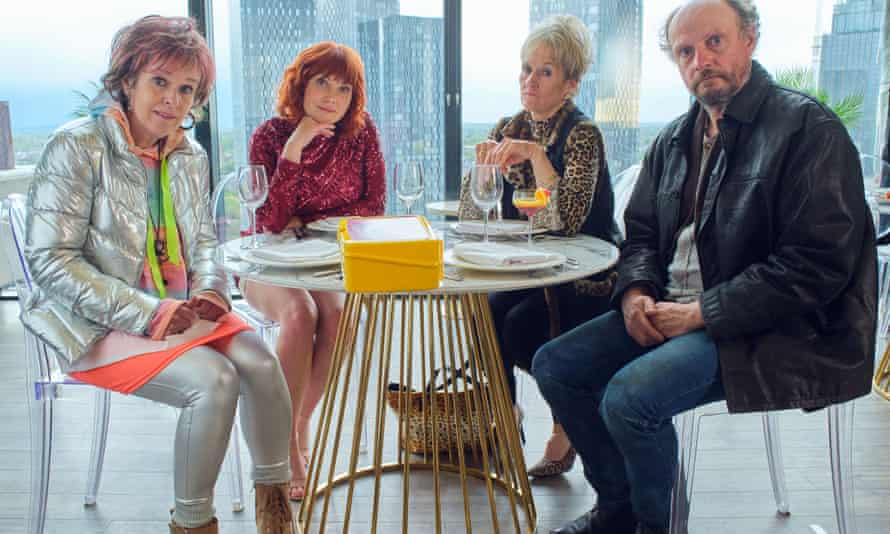 Siobhan Finneran, Sophie Willan, Lorraine Ashbourne and Nicolas Ashbury in Alma's Not Normal.