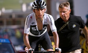 Egan Bernal is seen as the future of Team Sky by Dave Brailsford.