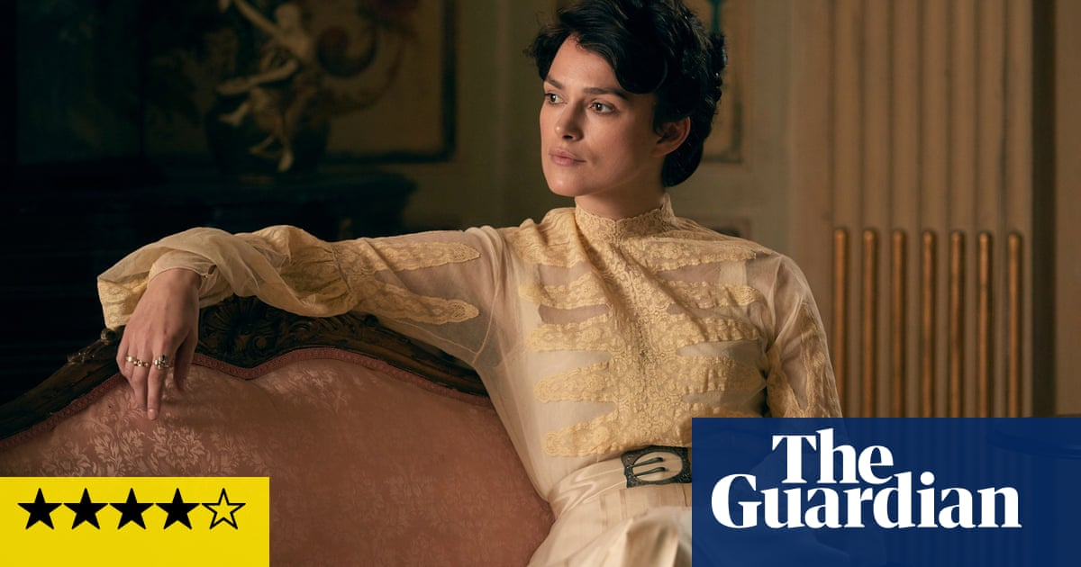 Colette review – Keira Knightley shines in gritty, glamorous biopic