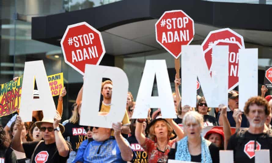 Anti-Adani mine protesters