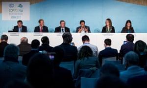 US talk on fossil fuels