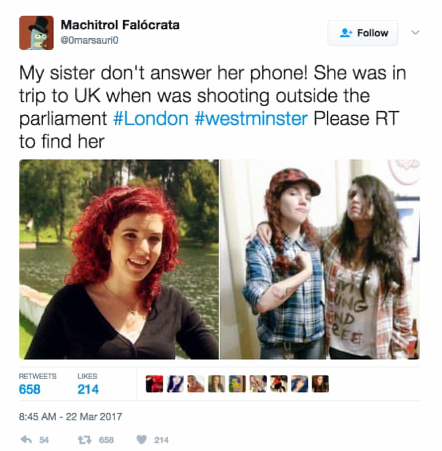 A hoax tweet which targeted journalist Tamara de Anda.