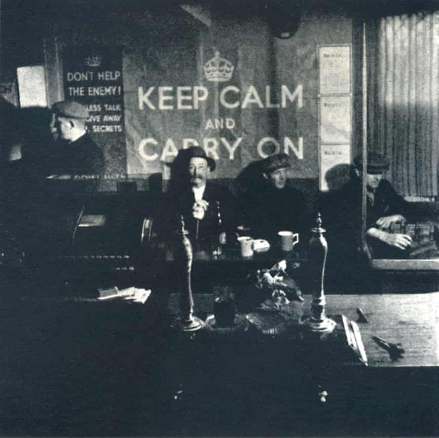 Carry On, 1941, by Cecil Beaton … a rare wartime sighting of the poster.