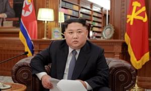 North Korea's leader, Kim Jong-un
