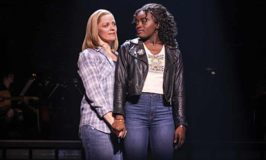 Elizabeth Stanley and Celia Rose Gooding in Jagged Little Pill
