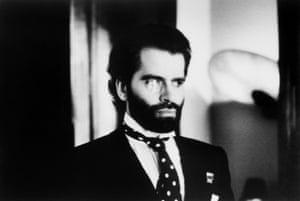 Karl Lagerfeld, Paris, 1973.