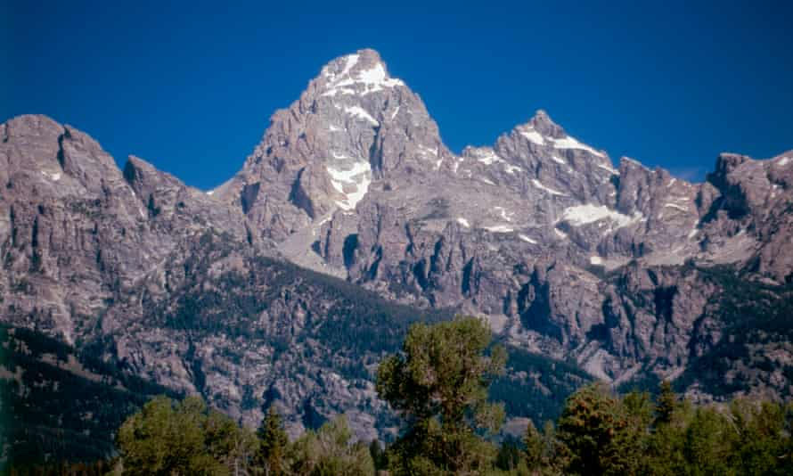 The summit of the Grant Teton is 13,775ft high.
