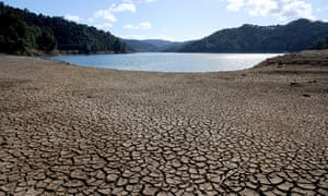 Drought conditions in New Zealand.