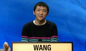 Ian Wang on University Challenge