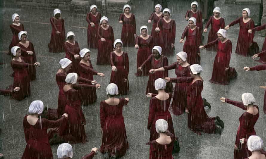 Under his eye … the TV adaptation of The Handmaid's Tale has pushed up sales of Margaret Atwood's book. A sequel is out soon.