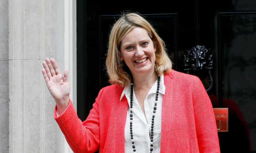 The secretary of state for energy and climate change, Amber Rudd