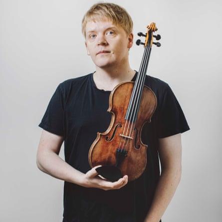 Pekka Kuusisto, who premieres Venables's violin concerto at the Proms