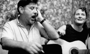 300 songs and counting … Ewan MacColl and Peggy Seeger.