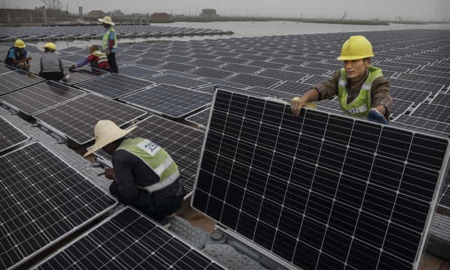 China's renewables push