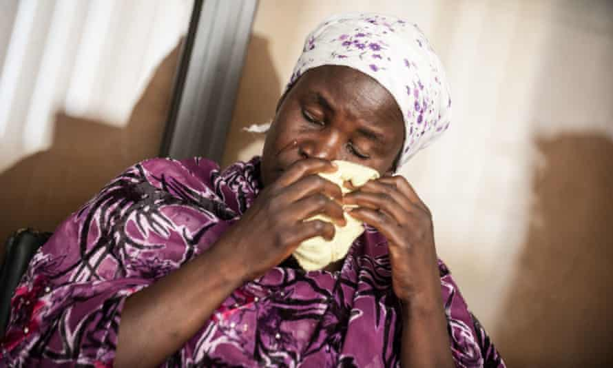 Yana Galang, the mother of Rifkatu Galang, one of the abducted Chibok girls