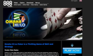 888 Omaha Poker.