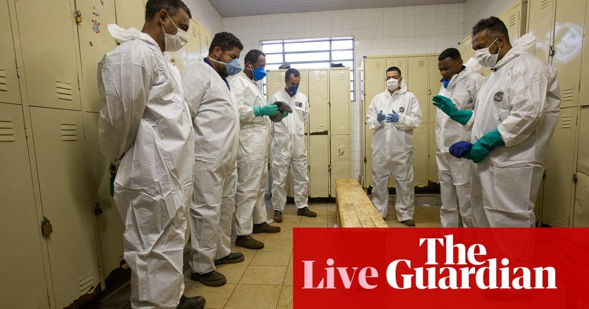 Coronavirus live news: UN chief praises Africa's efforts to stem virus as Brazil sees record daily deaths   World news