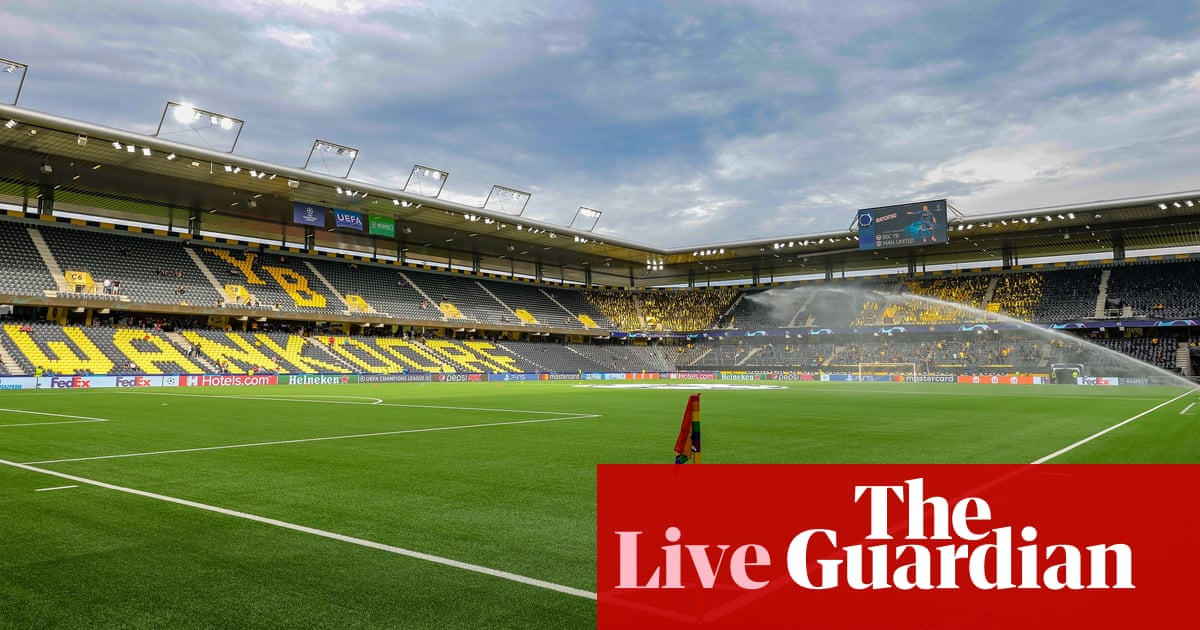 Young Boys v Manchester United: Champions League – live!