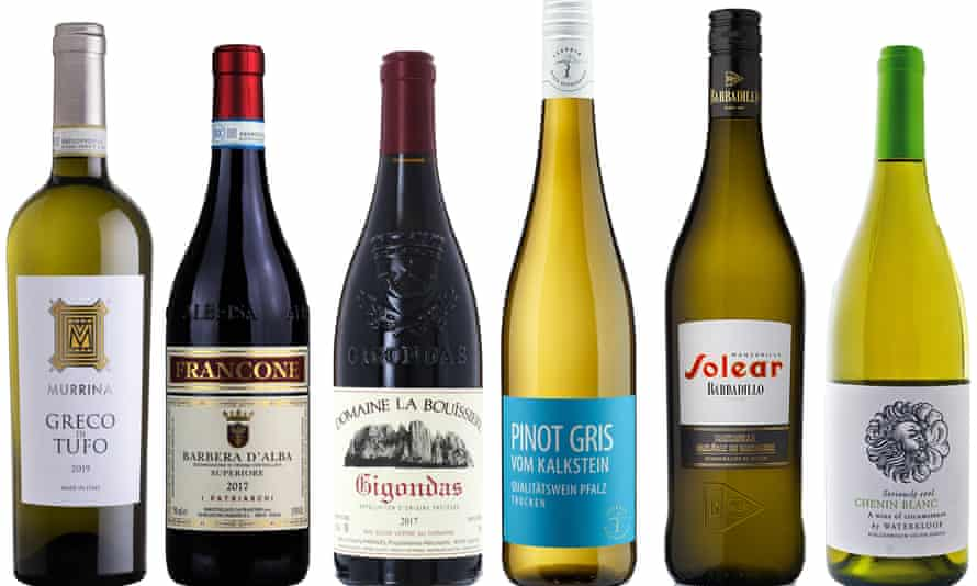 Six wines with terroir