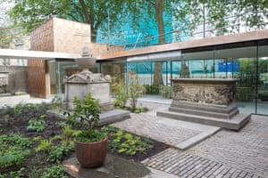 The Garden Museum courtyard