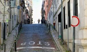 Hill in Lisbon