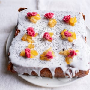 Nigel's pear and ginger cake.