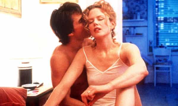 Tom Cruise and Nicole Kidman in Eyes Wide Shut.