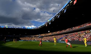 Romania and Switzerland in action at the Parc des Princes.