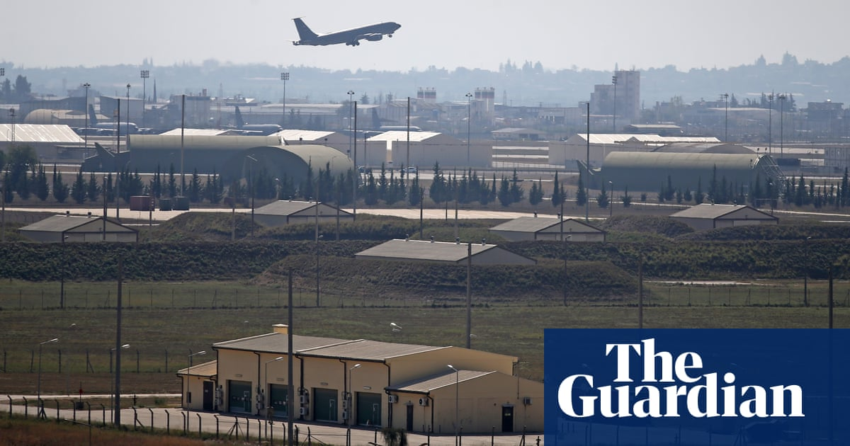 US bombs at Turkish airbase complicate rift over Syria invasion