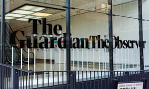 The Guardian offices in London