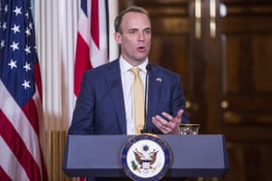 Dominic Raab, on his first trip to Washington as foreign secretary last week, is in the Lib Dems' sights.