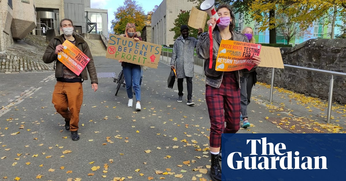 Rallies and rent strikes: how students and staff are uniting against Covid chaos