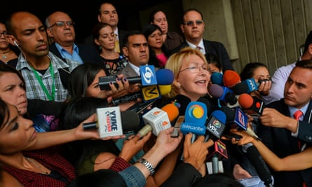 Luisa Ortega said earlier this week that the judges who approved Maduro's plan to rewrite the constitution were 'looking to dismantle the Venezuelan state.'