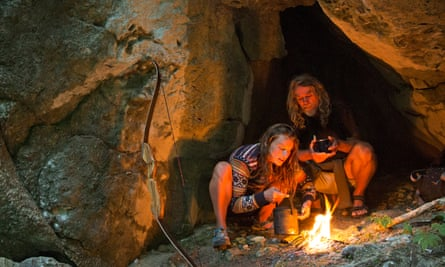 Hunter-gatherers: Miriam Lancewood and her husband Peter. They survive by killing wild animals and foraging.