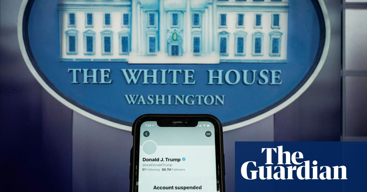 Twitter permanently suspends Trumps account to prevent further incitement of violence