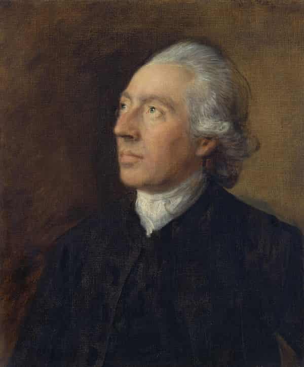 Humphrey Gainsborough, the Artist's Brother by Thomas Gainsborough c1770-4.