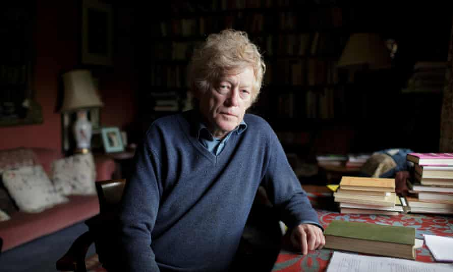 Writer and philosopher Roger Scruton at home in Wiltshire